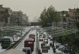 هوای تهران در بیست و نهمین روز از مرداد سالم است