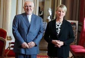 رایزنی وزرای خارجه ایران و سوئد درباره اجرای اینستکس
