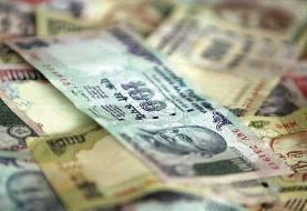 ارزش روپیه هند به پایینترین سطح ۶ ماه اخیر رسید
