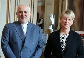 ظریف با همتای سوئدی دیدار کرد
