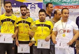قهرمانان مسابقات فوتبال رومیز کارگران کشور مشخص شدند