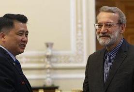 لاریجانی: خواستههای یک طرفه آمریکاییها از کره شمالی ناکام ماند