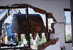 (تصاویر) تخریب سازههای غیرمجاز در گرگان