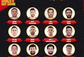 اعلام ترکیب تیم ملی بسکتبال اسپانیا برای جام جهانی