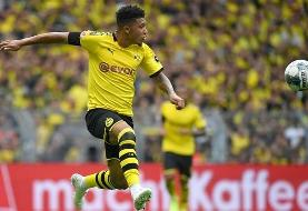 Jadon Sancho signs 190k pounds per week contract