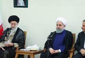 اعضای هیئت دولت با رهبرانقلاب دیدار کردند