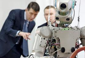 اعزام ربات به فضا توسط روسیه