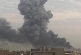 انفجارهای عظیم در شمال بغداد، مواضع نیروهای شیعه وابسته به ایران، را هدف قرار داد