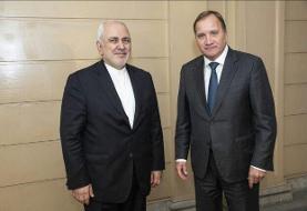 دیدار ظریف با نخستوزیر سوئد