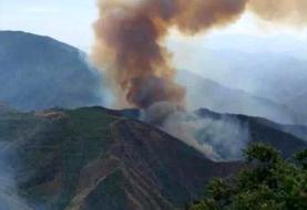آتشسوزی مهیب در جنگلهای ارسباران