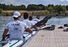 سهمیه المپیک پرید/ کایاک چهارنفره  ایران به نیمه نهایی نرسید