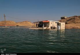 مسجدسلیمان زیر آب سد گتوند