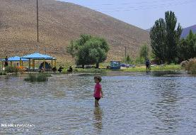 آب و هوای تابستانی در چشمه دیمه +تصاویر