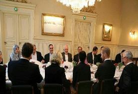 ظریف با وزیر امور خارجه نروژ دیدار و گفتگو کرد