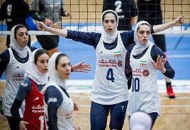 شکست دختران والیبالیست ایران مقابل تایلند