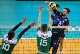 شکست نوجوانان والیبال ایران مقابل ایتالیا
