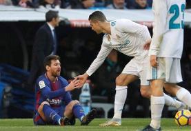 رونالدو: رقابت با مسی من را بهترین کرد و بالعکس
