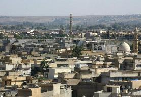 پرواز هواپیمای ناشناخته بر فراز پایگاه شبه نظامیان عراقی