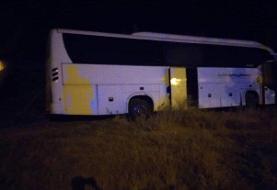 تصادف اتوبوس زائران ایرانی در واسط عراق با ۸ کشته و ۳۰ زخمی