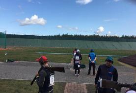 تیم ملی تیراندازی دست خالی از فنلاند برگشت