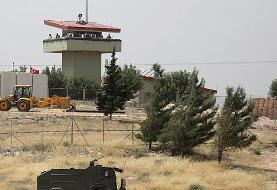 ارتش سوریه به سوی یک پایگاه دیدهبانی ترکیه در ادلب آتش گشود
