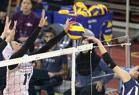 والیبال بانوان ایران به جمع ۴ تیم برتر آسیا نرسید