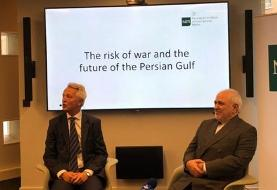 ظریف: امنیت در تنگه هرمز بدون ایران امکانپذیر نیست