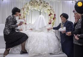(تصاویر) عروسی یهودیان ارتدوکس؛ جشن ازدواج فرزند خاخام ارشد یهودی