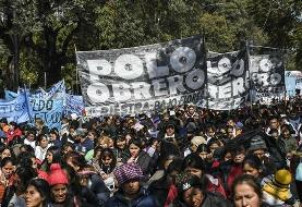 Thousands march in Buenos Aires against Macri's government