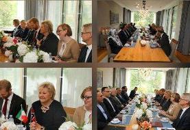 رایزنی ظریف با نخستوزیر نروژ