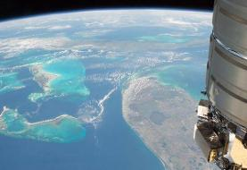 جزایر باهاما از فضا (+تصاویر)