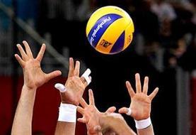 شکست تیم والیبال نوجوانان ایران مقابل جمهوری چک