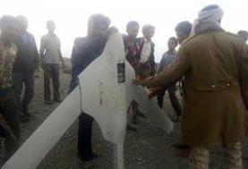 یمن یک فروند پهپاد جاسوسی عربستان را سرنگون کرد