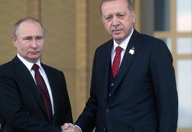 پوتین و اردوغان از توافق برای افزایش تلاش ها در ادلب خبر دادند