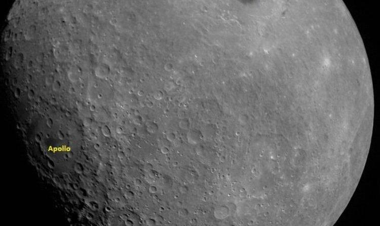 فضاپیمای هندی اولین عکس خود از ماه را گرفت