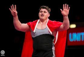 ترکیه با عنواندارانش در کشتی فرنگی قهرمانی جهان/ حضور رضا کایالپ در سنگین وزن