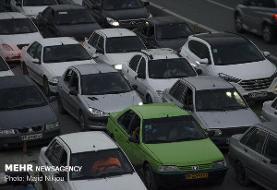 بزرگراههای پایتخت با حجم بار ترافیکی صبحگاهی مواجه هستند