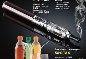 امارات: طرفداران سیگار و نوشابه، مالیات بدهند