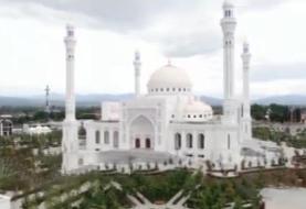 گشایش بزرگترین مسجد اروپا در چچن