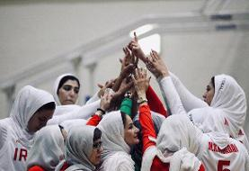 تیم ملی بسکتبال بانوان ایران مقابل اردن پیروز شد