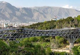 خودکشی مرد ۲۸ ساله از روی پل طبیعت