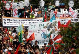 Protesters demand action from G7 leaders in Biarritz