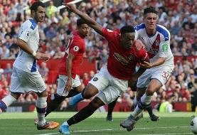 Premier League: Manchester United 1-2 Crystal Palace