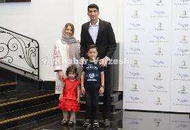 بیرانوند و همسرش در مراسم بهترینهای لیگ برتر/عکس