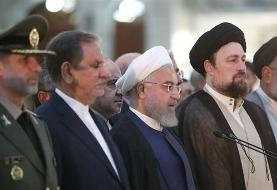 National unity key to withstanding hardships amid US-imposed sanctions: Rouhani