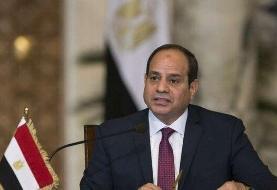 عبدالفتاح سیسی: از نیروهای حفتر حمایت میکنیم/باید مانع دخالتهای خارجی در لیبی شویم
