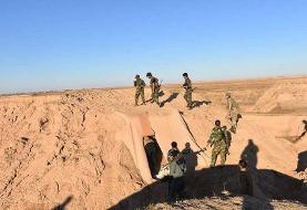 دفع حملات سنگین عناصر مخفی داعش در شمال و شمال شرق استان دیاله