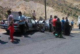 ۶ کشته و ۲۰مصدوم بر اثر تصادف در محور سراوان سیستان و بلوچستان