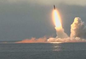 Russia test-fires ballistic missiles from submarines in the Barents Sea
