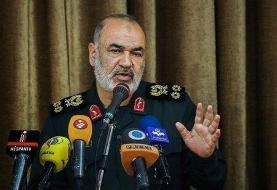 سرلشکر سلامی : امنیت در خلیج فارس در ید قدرت  جمهوری اسلامی ایران است